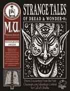 Strange Tales of Dread & Wonder #1