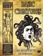 Basic Creatures
