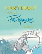 I Can't Bear It: The Works of Phil Mendez, Sketchbook #2