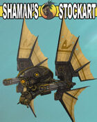 Steampunk Fighter Ship 1