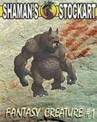 Shaman's Stockart Fantasy Creature #1