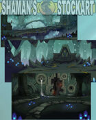 Fantasy Backgrounds : Cave
