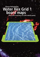 Water Hex Grid boardgame bases 1