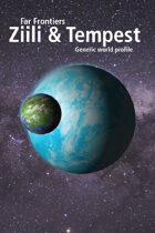Far Frontiers Ziili and Tempest