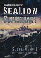SeaLion Supremacy Supplement 1 Forgotten Flotillas
