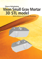 Vixen Small Grav Mortar 3D STL model