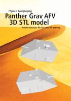 Panther Grav AFV 3D STL model