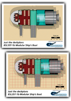 BSL35T-1b Ships Boat ship plans sheet