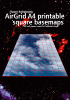 FSpaceRPG AirGrid A4 printable square basemaps - 3/4 inch