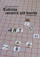 TayanaRPG Tabletop counters and boards pack 2