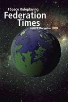 FSpaceRPG Federation Times issue 9, December 2009