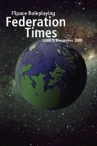 FSpaceRPG Federation Times issue 9, December 2009 Mobipocket edition