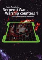 FSpaceRPG Serpenti War warship counters 1
