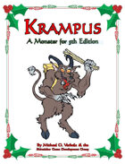 Krampus (A Monster for 5th Edition)