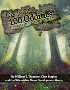 Deck of 100 Oddities for an Enchanted Forest
