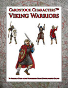 Viking Warriors (Cardstock Characters™)