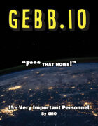 Gebb 15 – Very Important Personnel