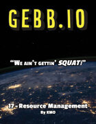 Gebb 17 – Resource Management