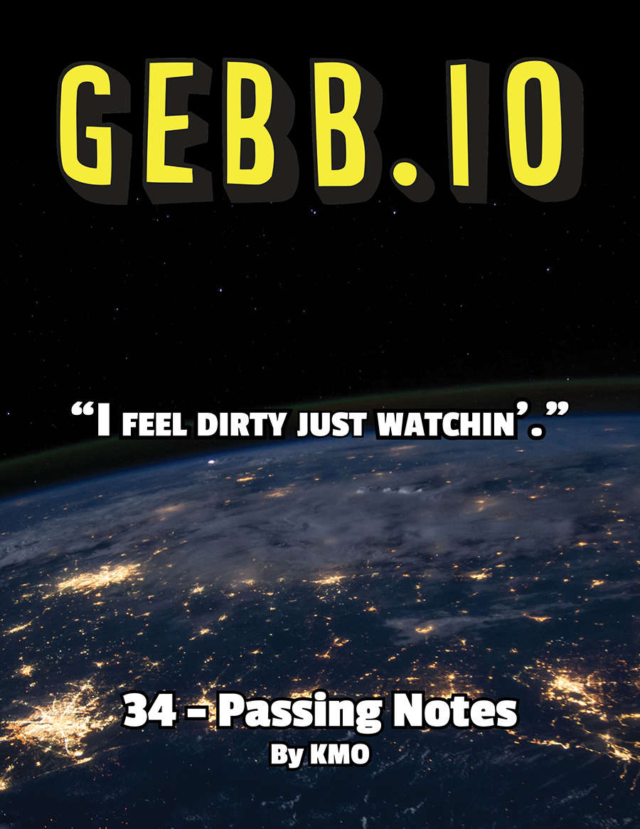 Gebb 34 – Passing Notes