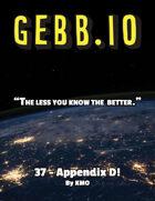 Gebb 37 – Appendix D!