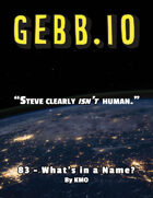 Gebb 83 – What's in a Name?