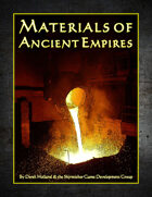 Materials of Ancient Empires