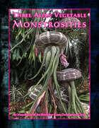 Three Alien Vegetable Monstrosities
