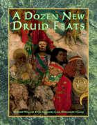 A Dozen New Druid Feats