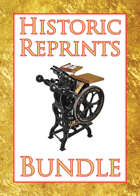 Historic Reprints [BUNDLE]