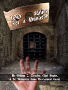 100 Oddities for a Dungeon