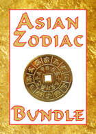 Asian Zodiac Monsters [BUNDLE]