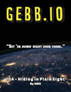 GEBB 104 – Hiding in Plain Sight