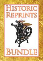 Historic Reprints [BUNDLE]
