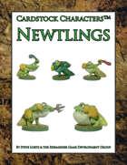 Newtlings (Cardstock Characters™)