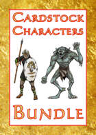 Cardstock Characters™ [BUNDLE]