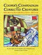 Cooper's Compendium of Corrected Creatures: OGL Monster Stats E – K (Eagle, Giant – Krenshar)