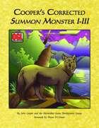 Cooper's Corrected Summon Monster I-III