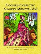 Cooper's Corrected Summon Monster IV-VI