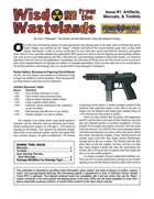Wisdom from the Wastelands Issue #1: Artifacts, Manuals, and Toolkits
