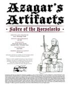 Azagar's Artifacts: Sabre of the Horselords