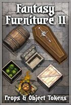 Fantasy Furniture Tokens II