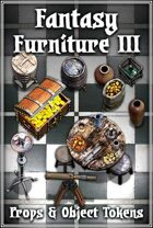 Fantasy Furniture Tokens III