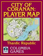 City of Coranan Player Map
