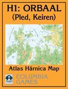 Atlas Map H1: Orbaal - Pled & Keiren