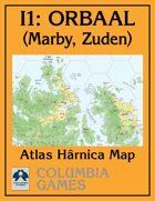 Atlas Map I1: Orbaal - Marby & Zuden