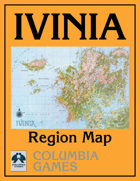Ivinia Region Map