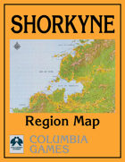 Shorkyne Region Map