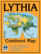 Lythia Continent Map