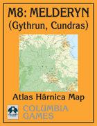 Atlas Map M8: Melderyn