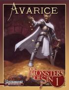 Monsters of Sin 1: Avarice (Pathfinder RPG)
